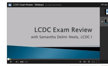 Substance Abuse Counselor Exam Video Lessons Counselor